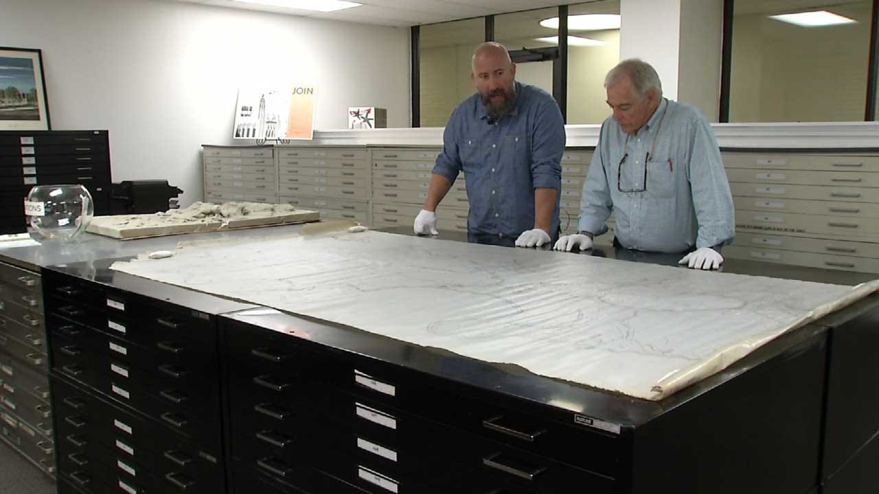 Tulsa Non-Profit Shows 100-Year-Old Map Of Mohawk Park