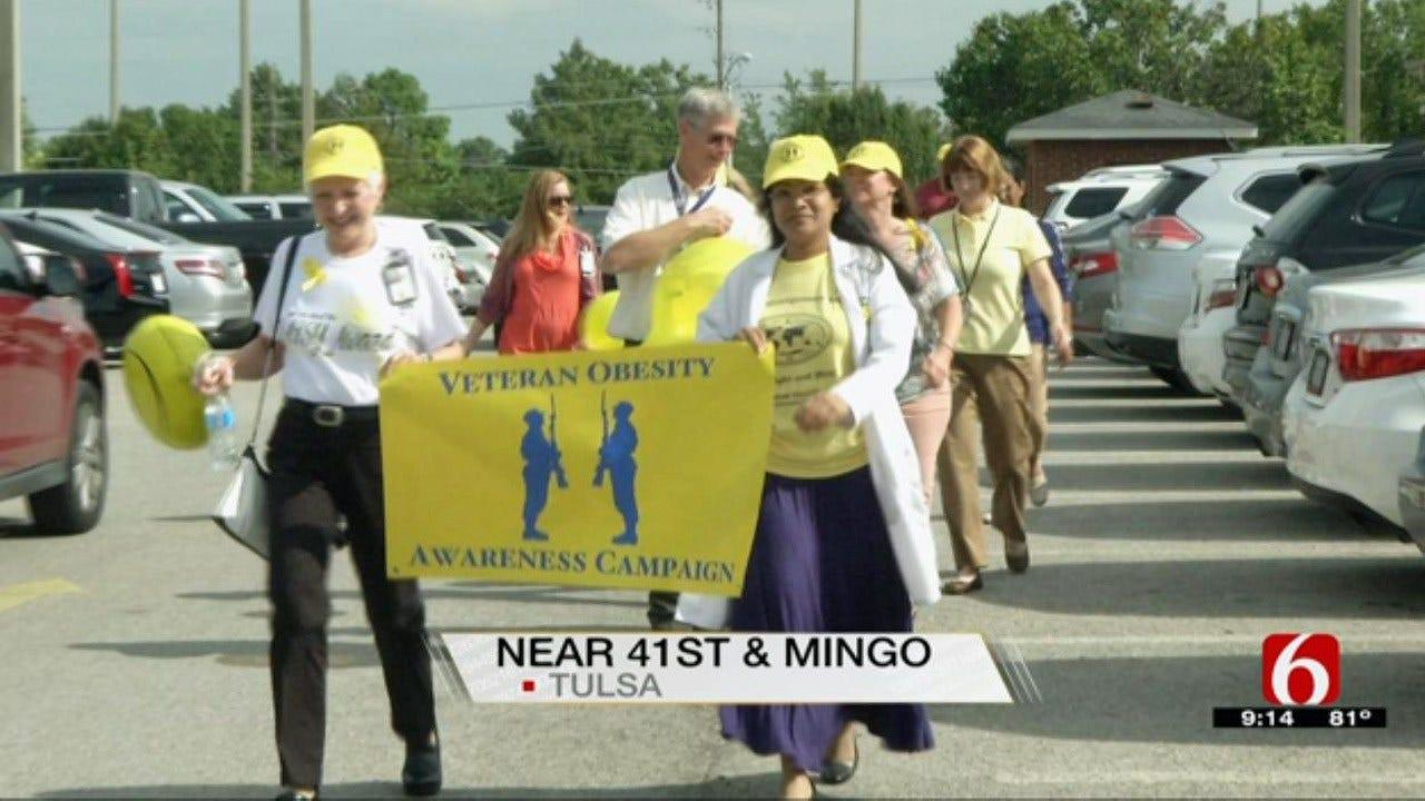 Tulsa VA Clinic Sponsors Obesity Awareness Walk