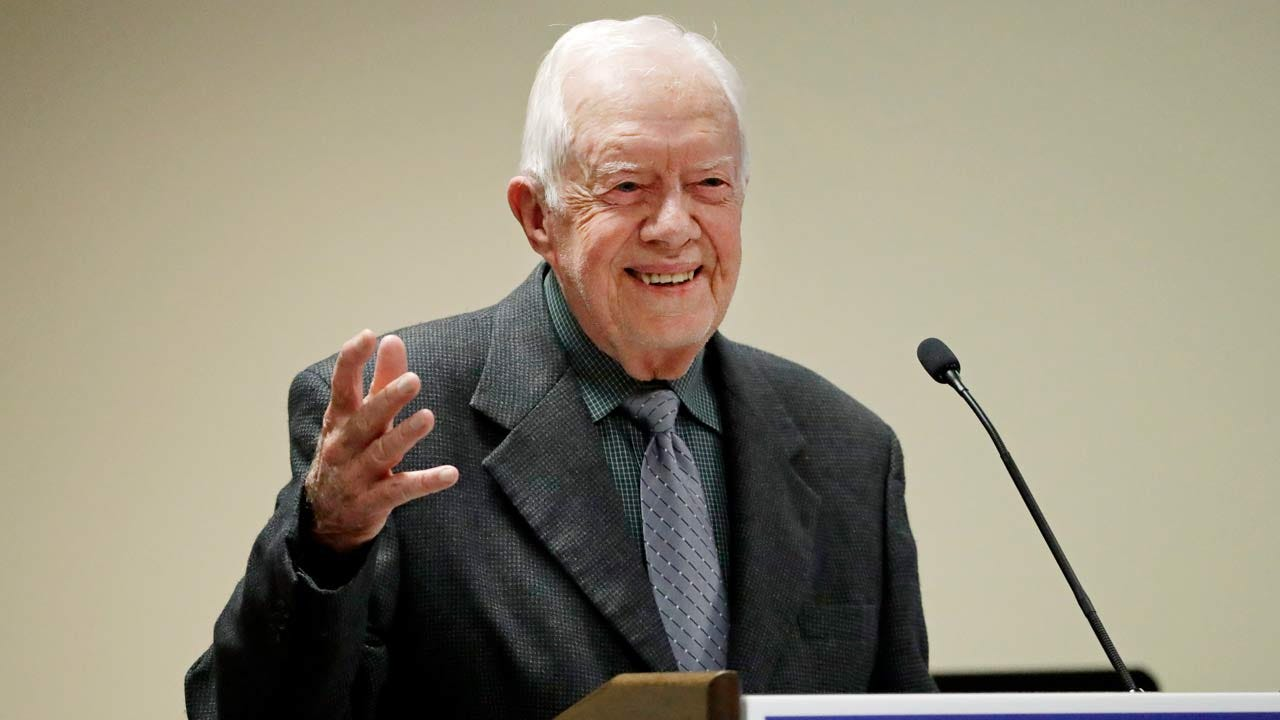 Jimmy Carter: The U.S. Is Seeing A 'Resurgence Of Racism'