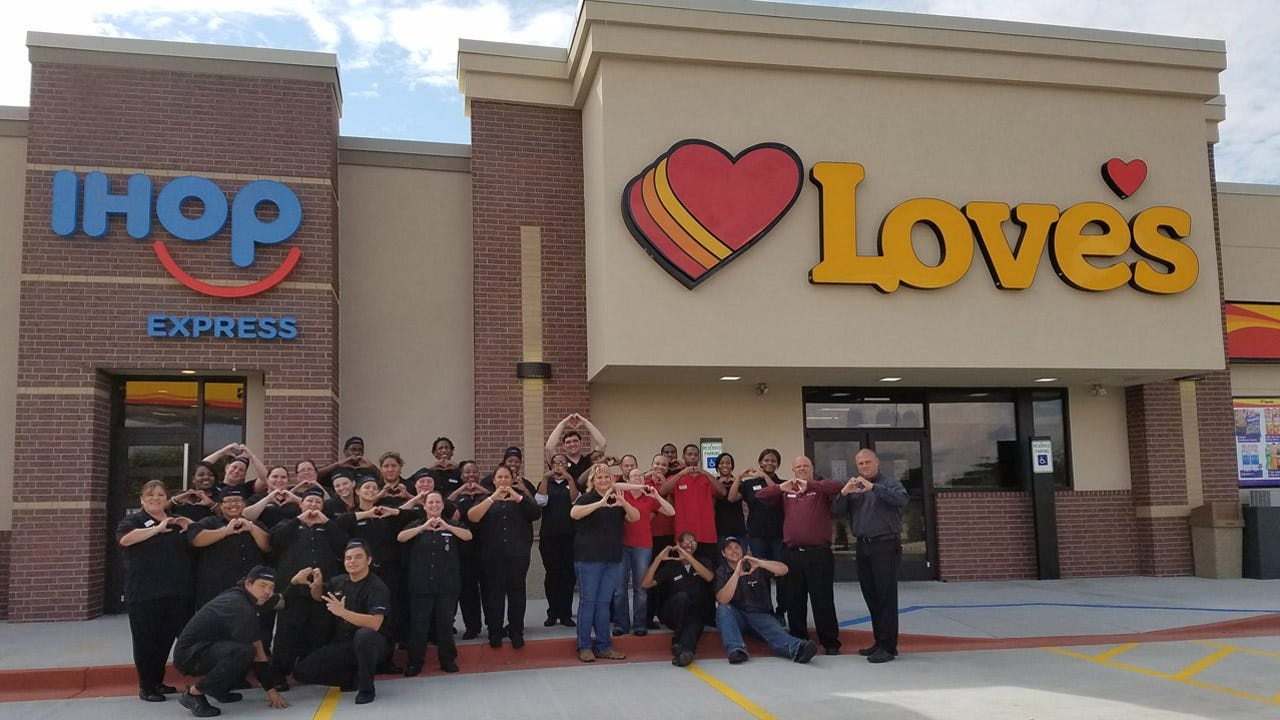 Love's Travel Stops Opens Okmulgee Location