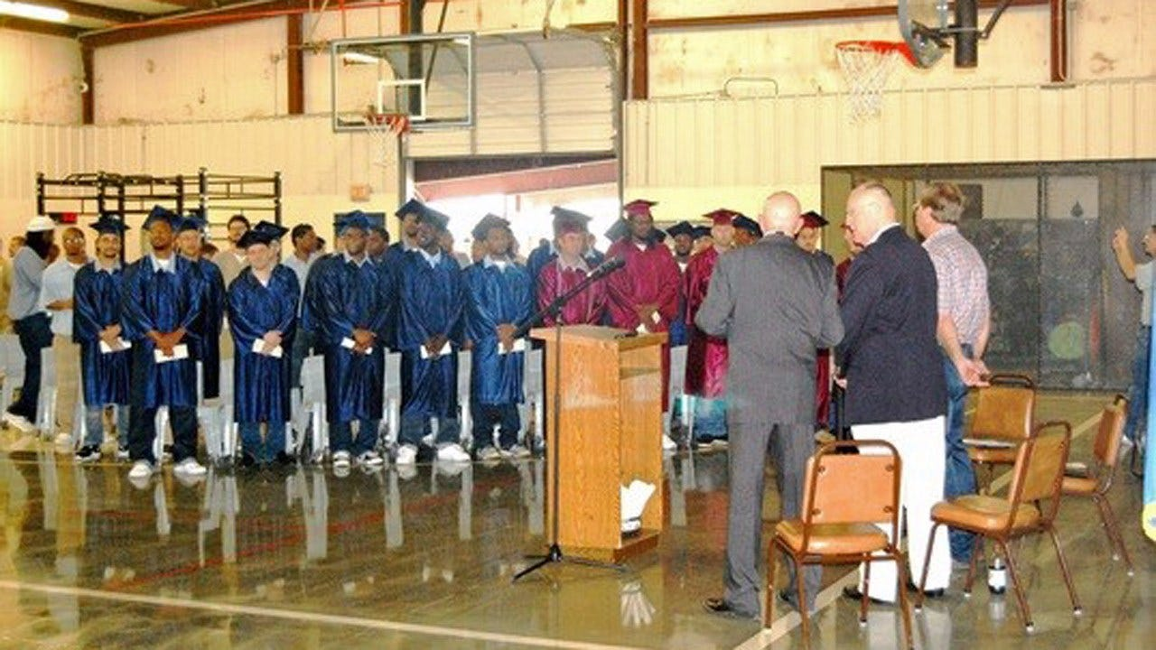 Oklahoma Prison Has Largest Graduating Class in Its History