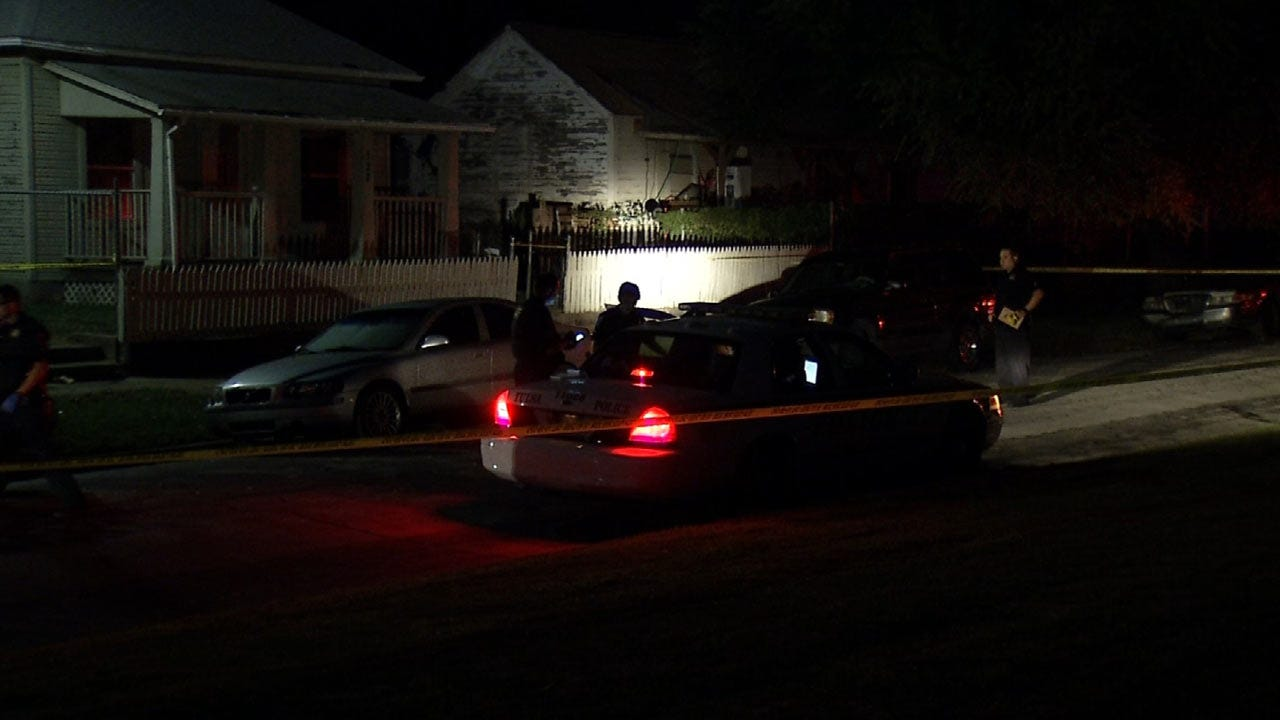 Tulsa Stabbing Victim Found With Knife In Back