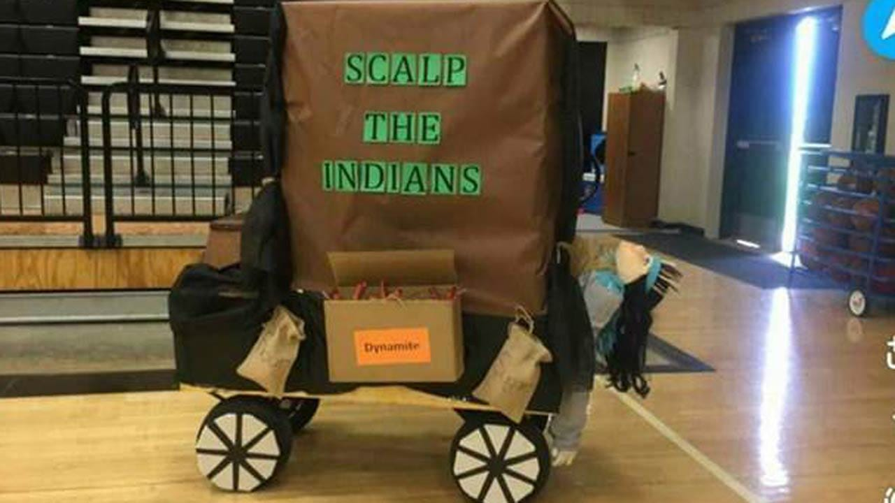 Coweta Schools Issues Apology For 'Scalp The Indians' Float