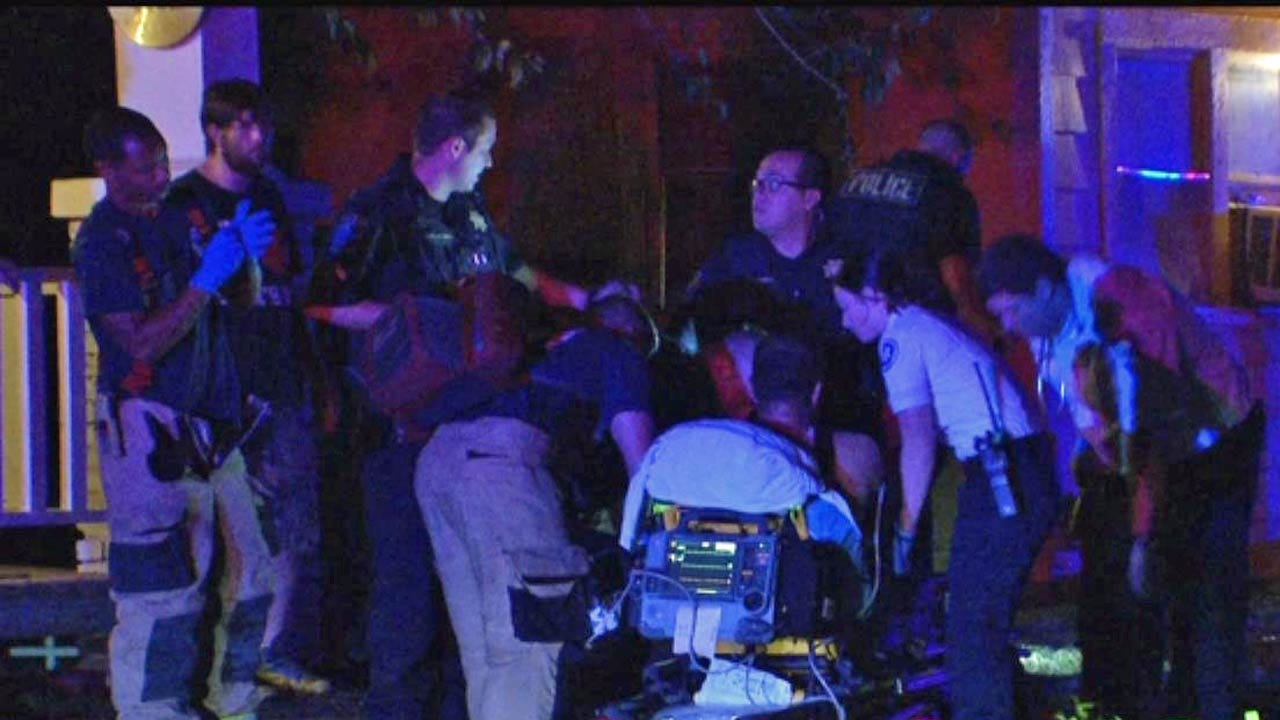 Tulsa Man Hospitalized After Being Shot Twice During Fight
