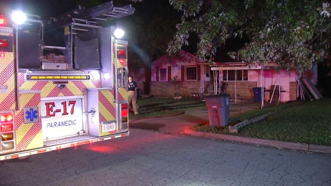 Kitchen Fire Sends Tulsa Woman To Hospital