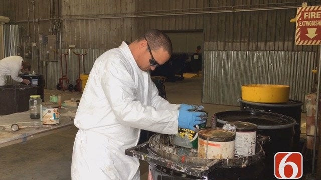 Broken Arrow Residents Can Dispose Of Hazardous Waste Year Round For Free