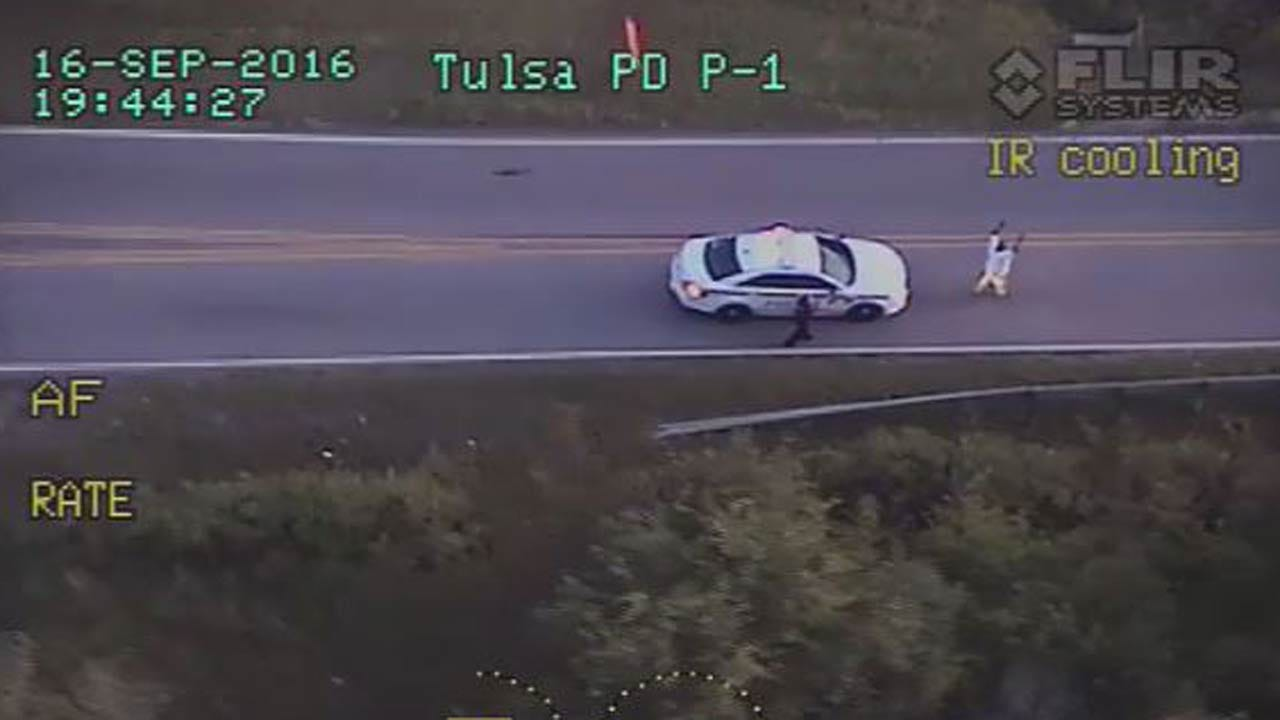 Tulsa Police Release Video Of Terence Crutcher Shooting Death