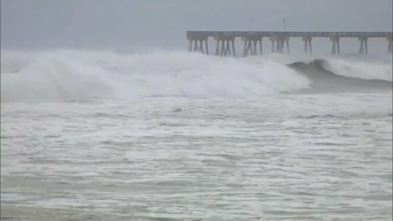 Downgraded Hermine, Still Dangerous, Barrels across Florida, Georgia