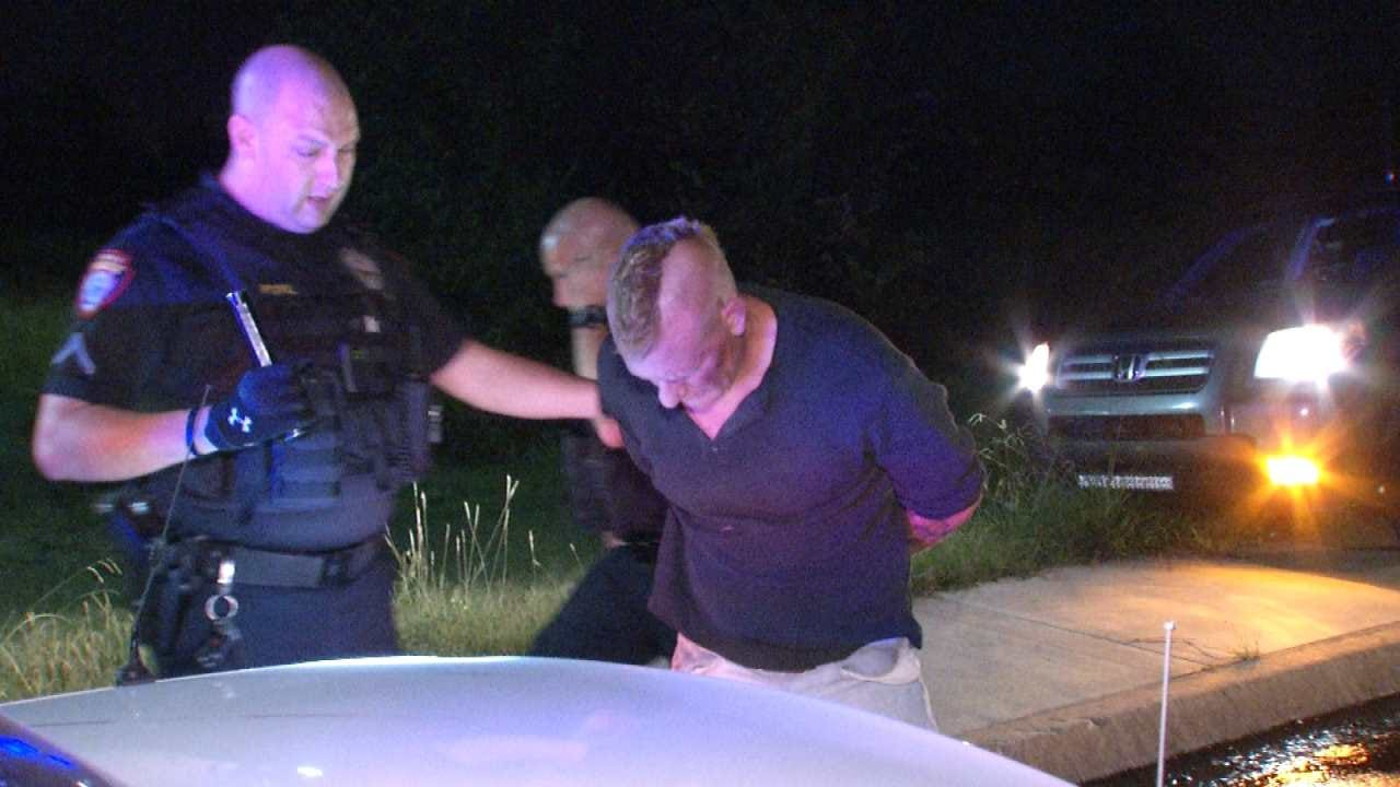 Owasso Police Chase, Arrest Driver In Tulsa