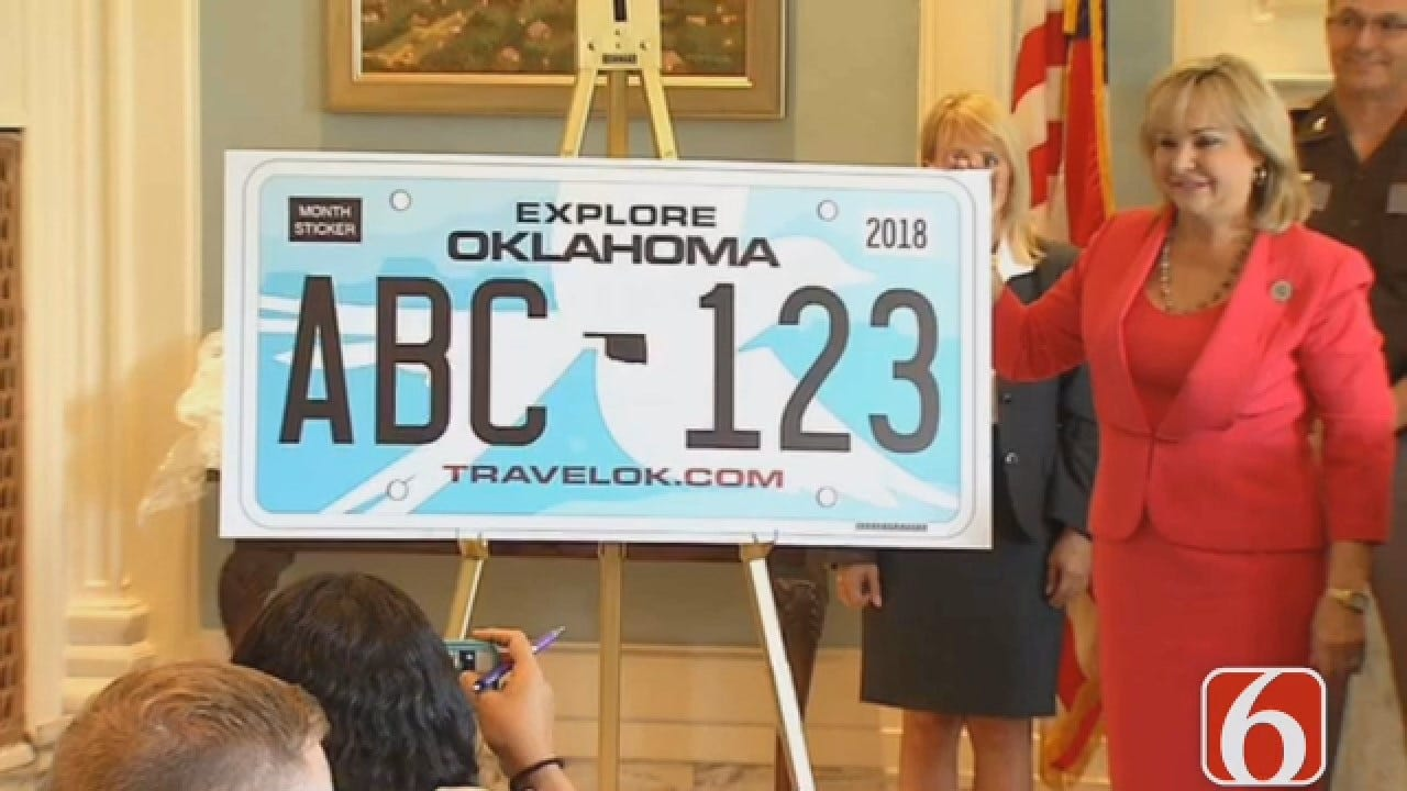 New Oklahoma License Plate Info Found On Back Of Tag Renewal Notices