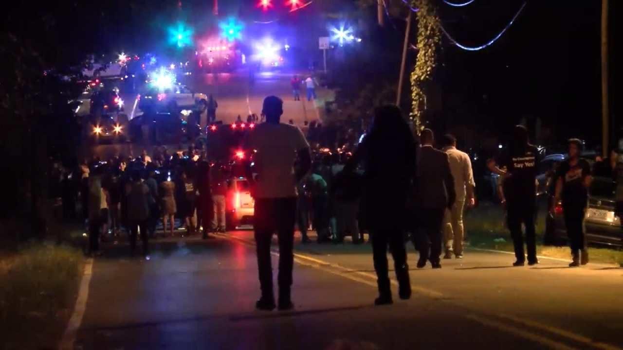 Protests Turn Violent After Fatal Police Shooting In North Carolina