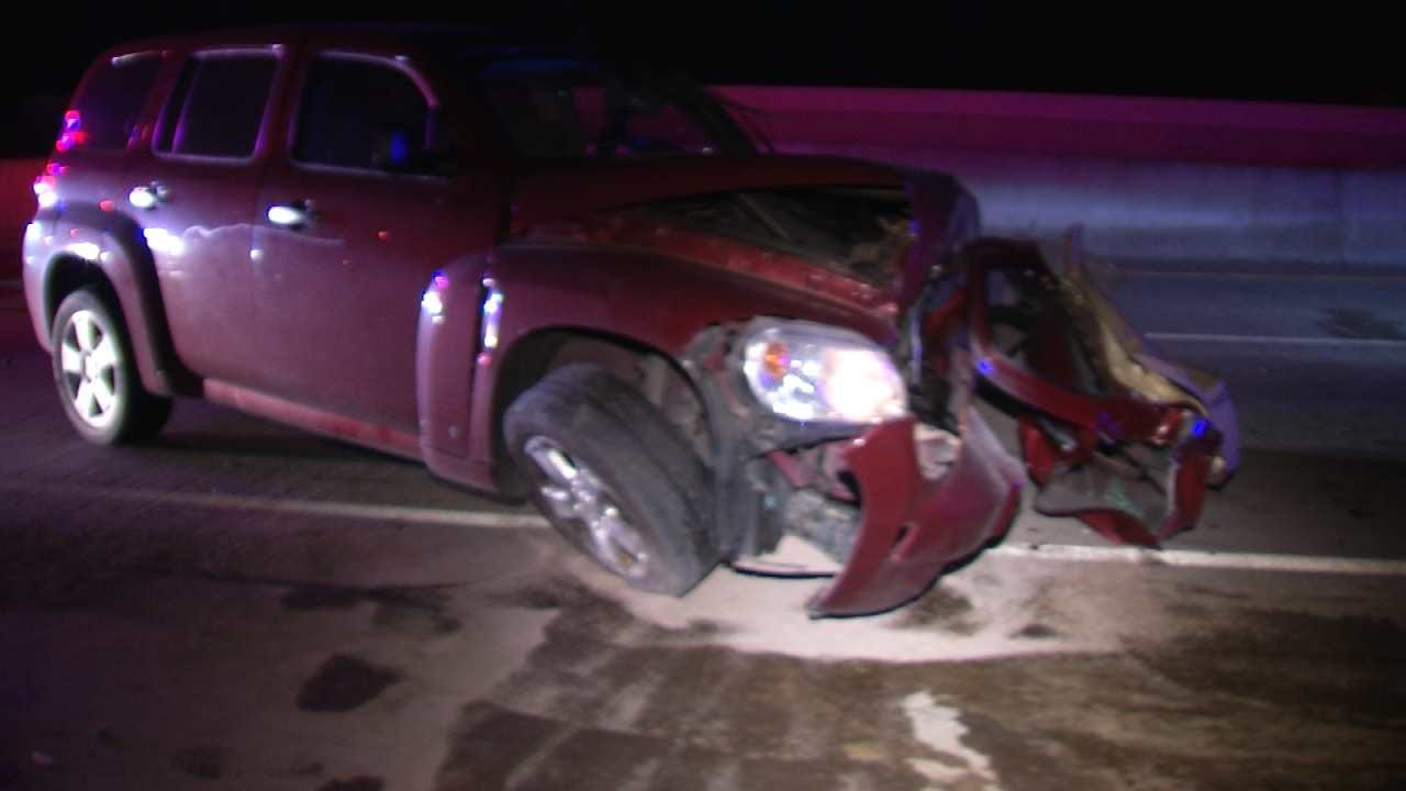 Alcohol Cited In Wrong Way Crash On Tulsa Highway