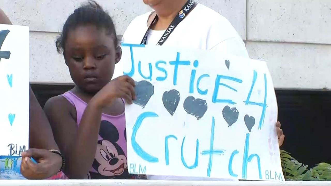 Crutcher Protester's Racially Charged Remark Condemned