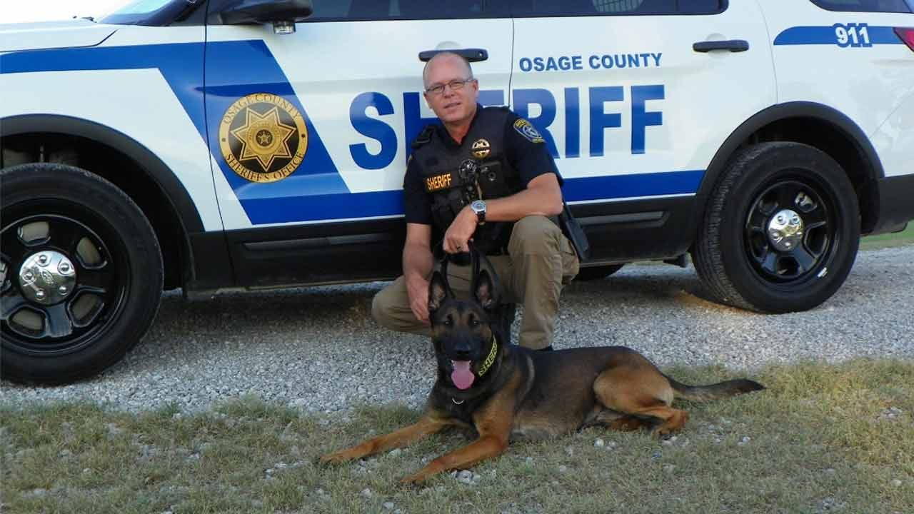 Osage County K9 Gets Protective Vest Thanks To Charity