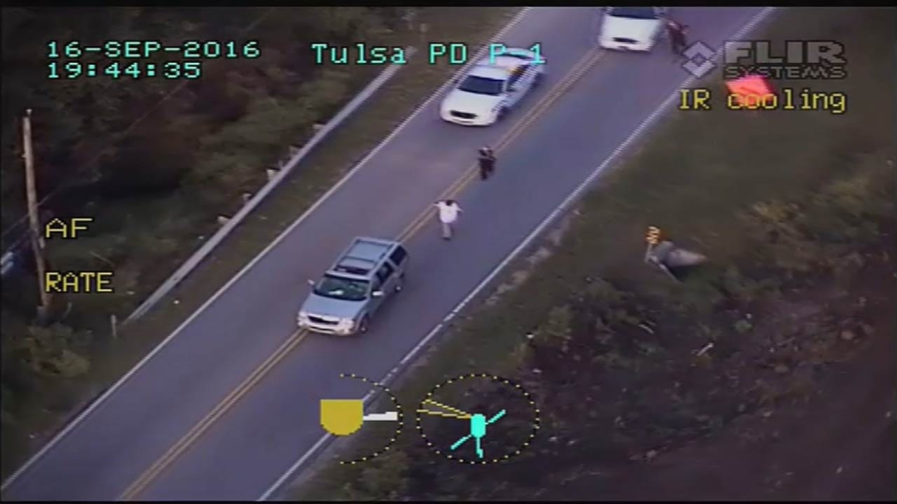 TPD Explains Why Chopper Was Over Terence Crutcher Shooting