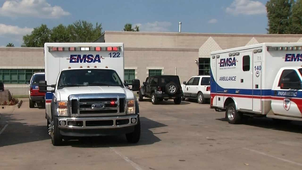 Tulsa EMSA Crew Confronted Over Terence Crutcher Shooting