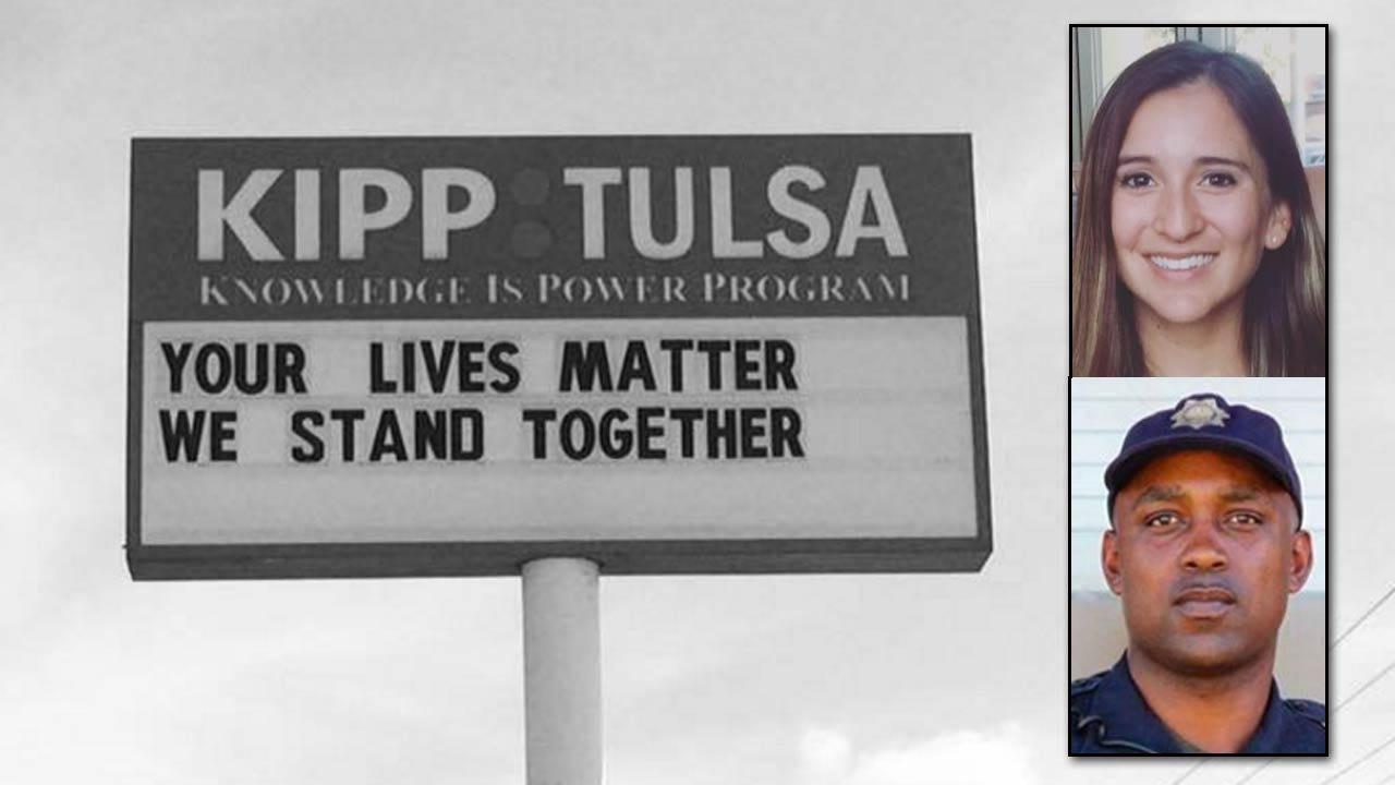 Tulsa Teacher, Police Officer Share Thoughts On Crutcher Shooting On Social Media