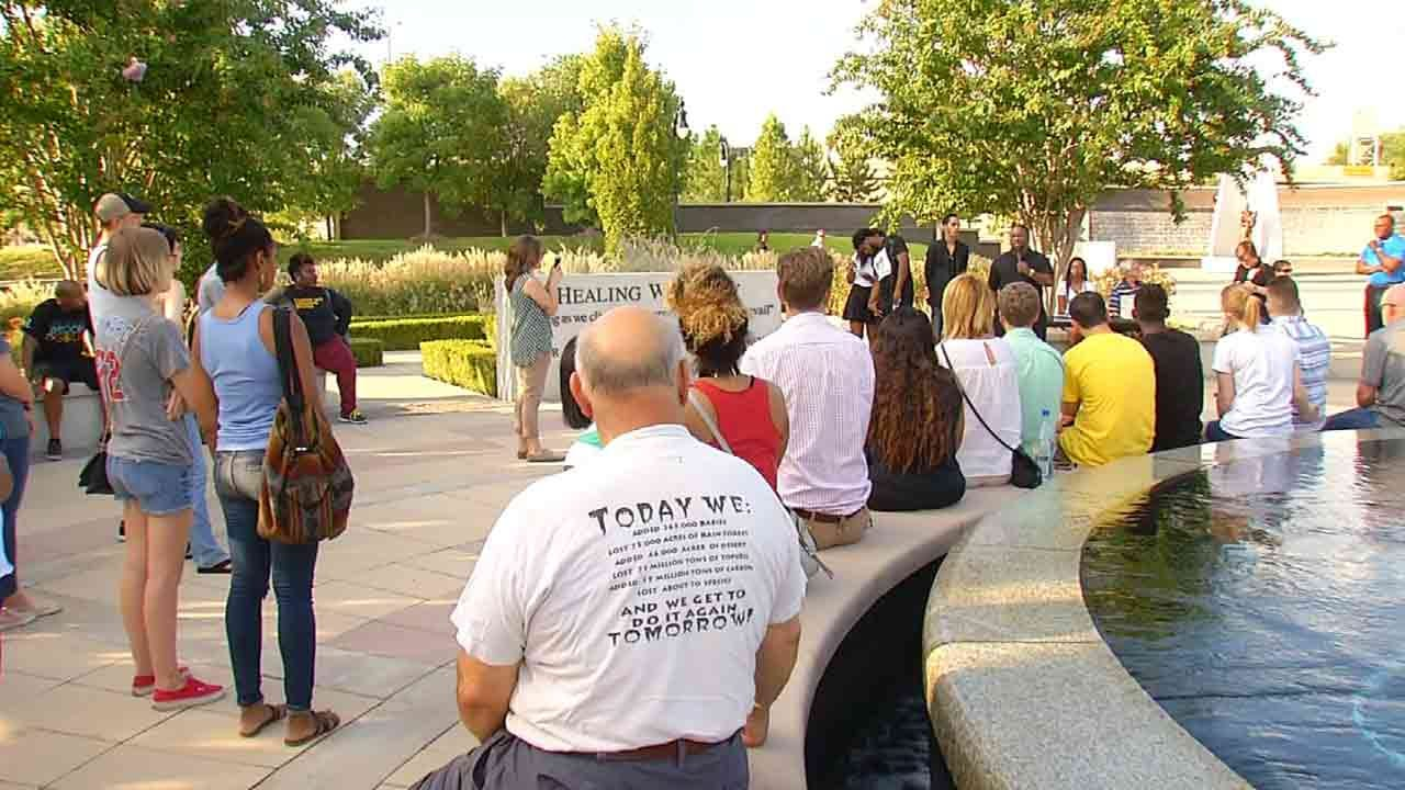 Community Gathers, Hoping To Improve Relations Between Public, Police