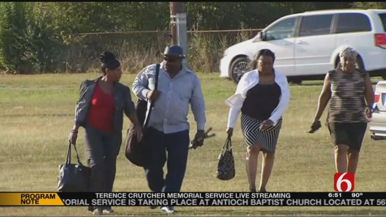 Funeral Attendees Hope Crutcher's Death Wasn't In Vain