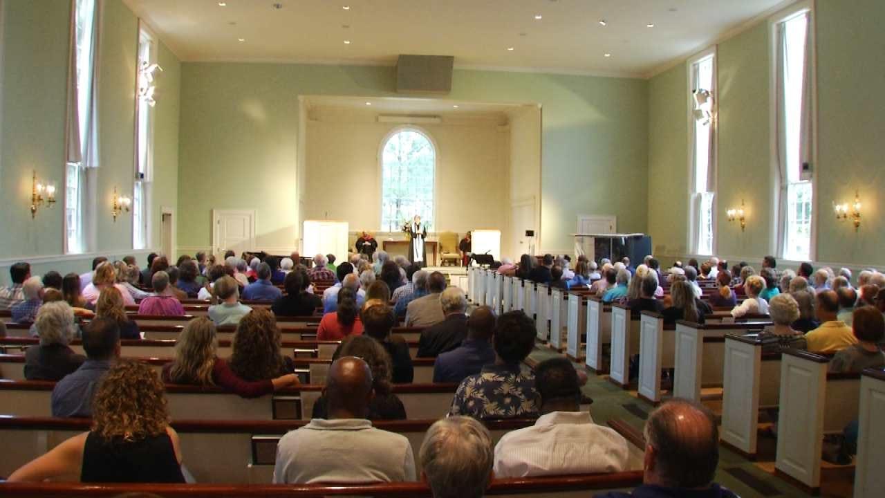 Tulsa Church's Sermon Focuses On Healing
