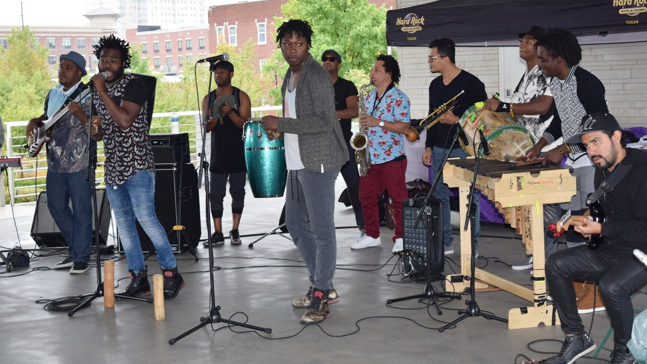'Tulsa Roots Rocks The Green,' Even In The Rain