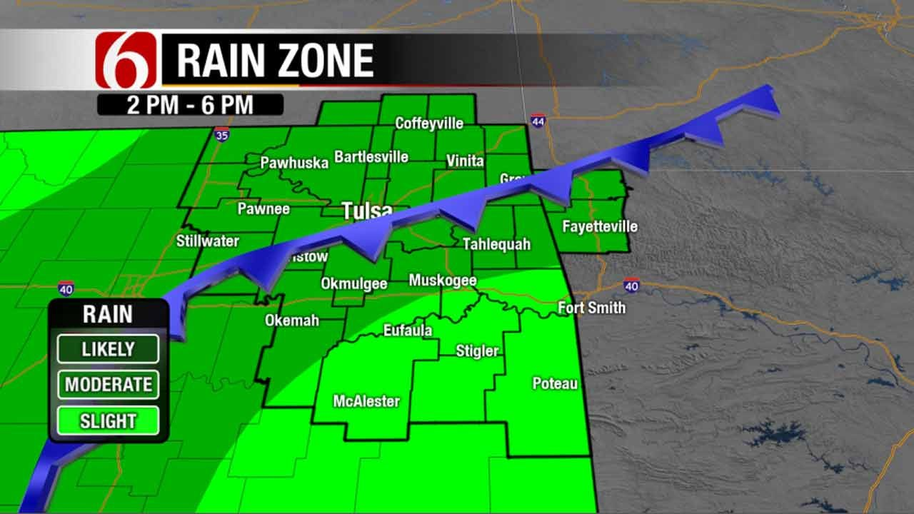 Widespread Rain Expected In Green Country