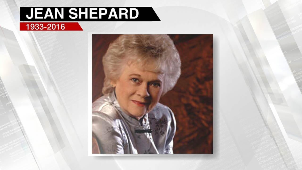 Country Music Legend, Native Oklahoman Jean Shepard Dies