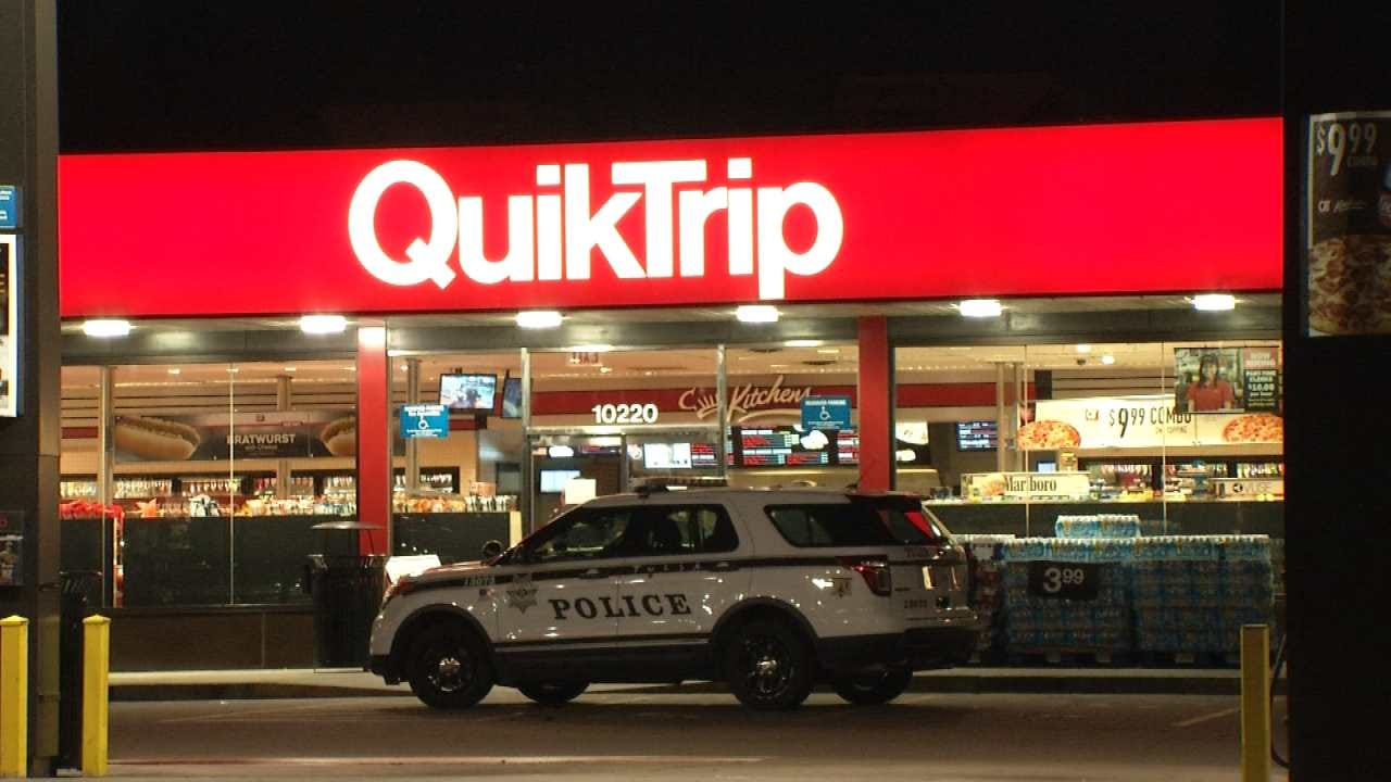 Men Armed With Knife, Tire Tool Rob Tulsa QuikTrip
