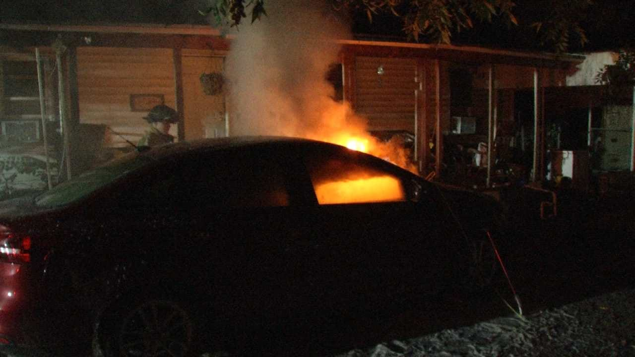 TFD Investigating Overnight Vehicle Fires As Arson