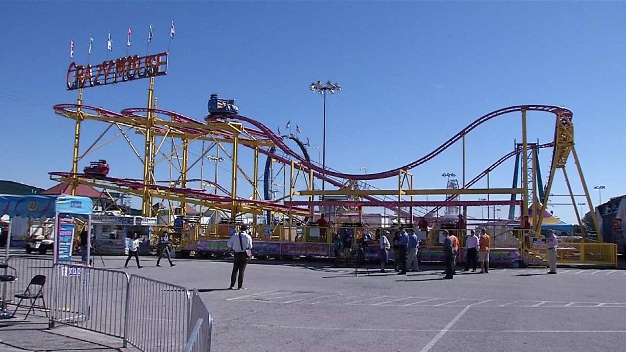 Department Of Labor Inspecting Tulsa State Fair Amusement Rides