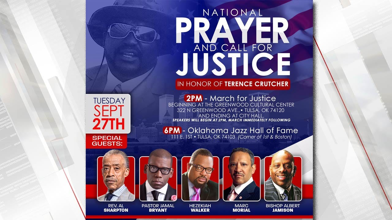 Rev. Al Sharpton In Tulsa To Lead 'National Prayer, Call For Justice' March, Rally
