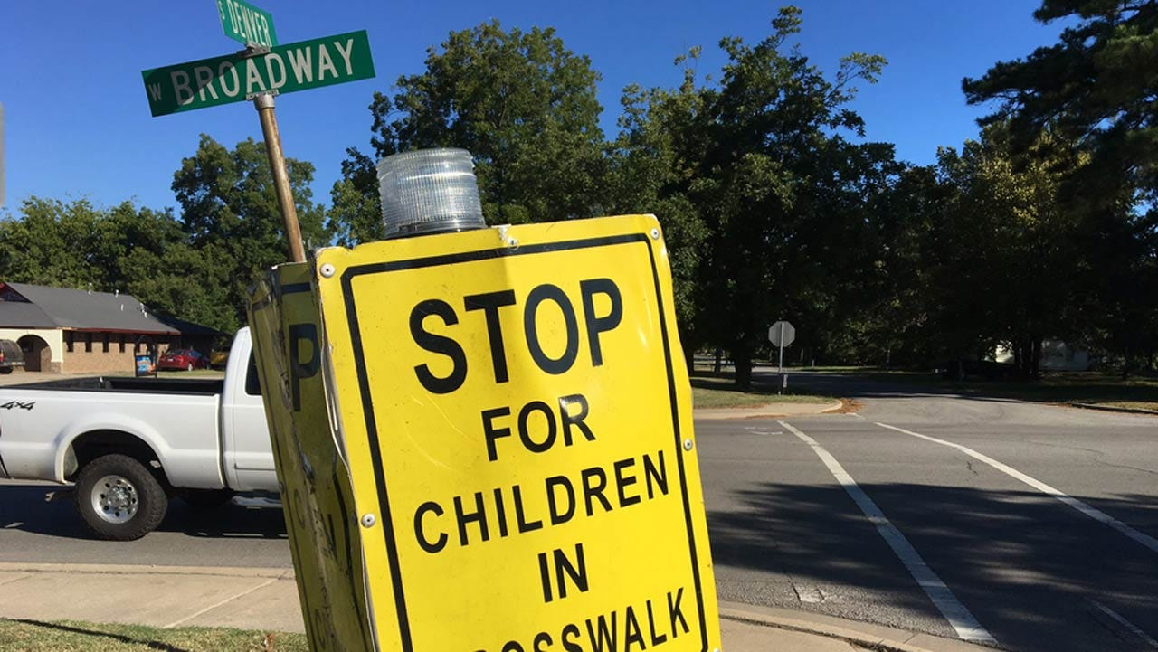 Student, Crossing Guard Struck, Injured In LeFlore County