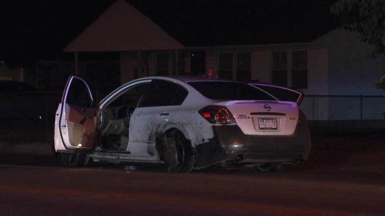Hour-Long Tulsa Chase Ends When Suspect Runs Out Of Gas