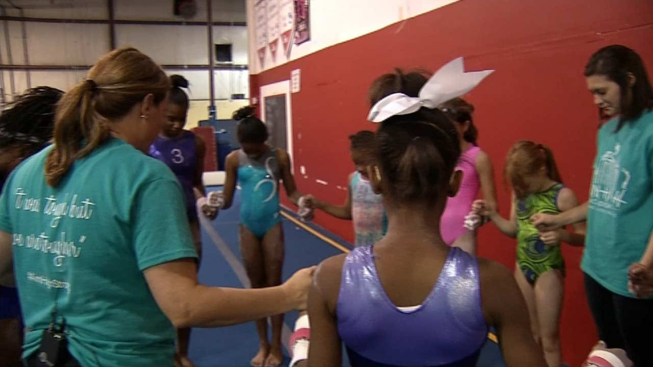 Olympic Icon Comes To BA To Fundraise For Tulsa Gymnastics Studio