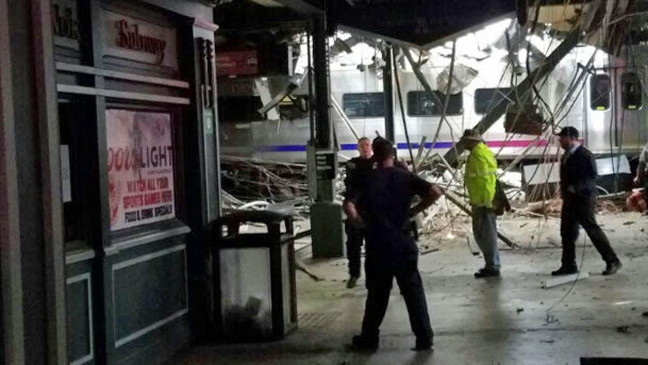Three Killed When Commuter Train Smashes Into NJ Station