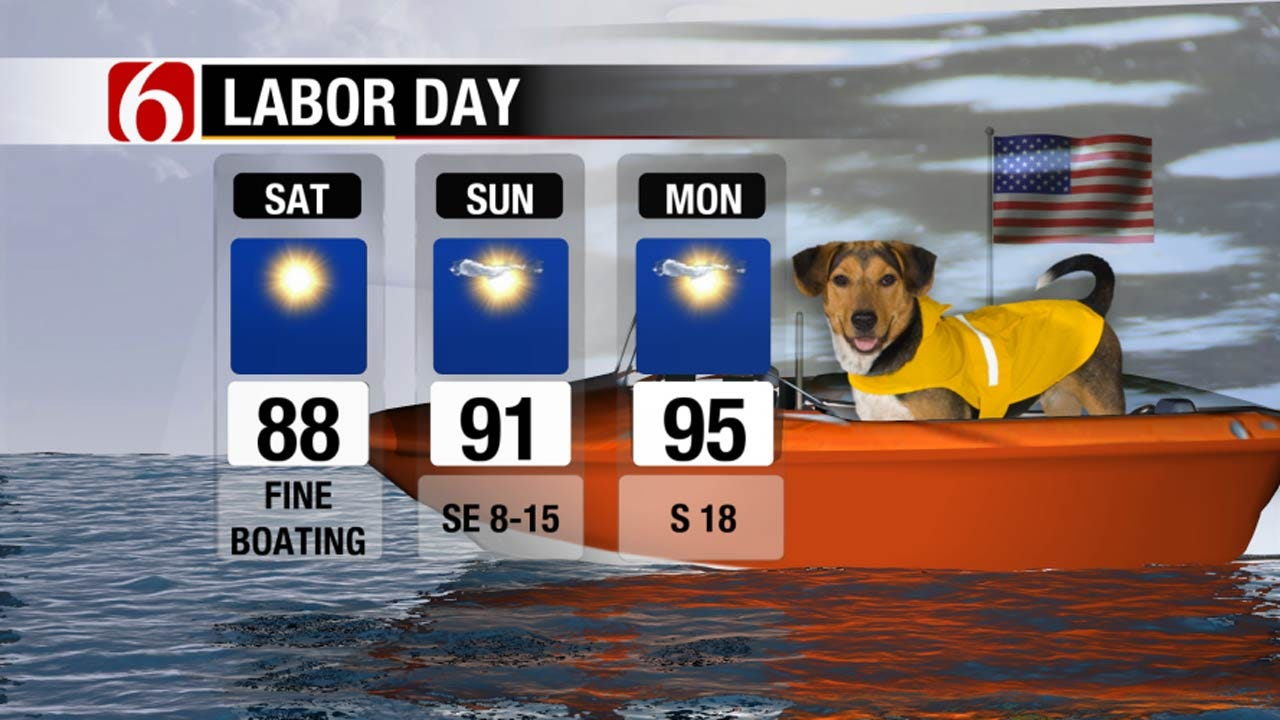 Nice Weather In Store For Oklahoma's Labor Day Holiday Weekend