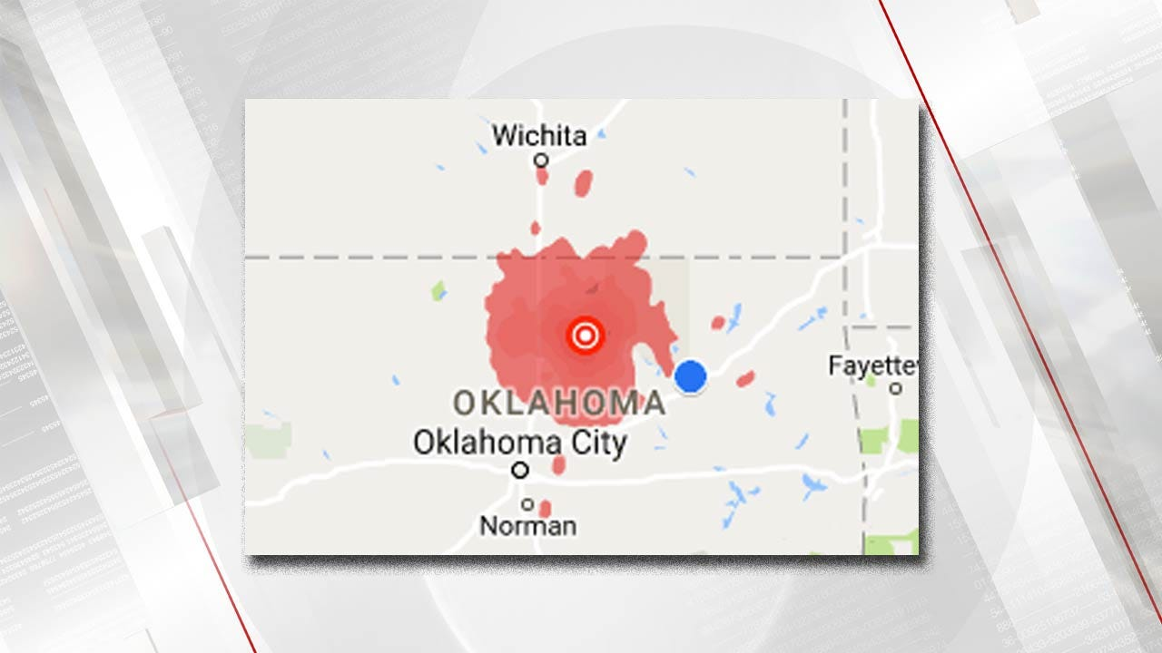 U.S.G.S. Releases Report On Pawnee Earthquake