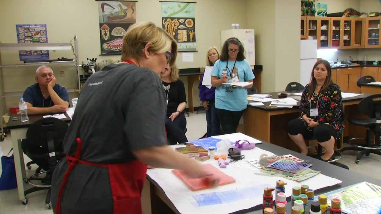 Art Teachers Meet At ORU For OK Art Educators Conference