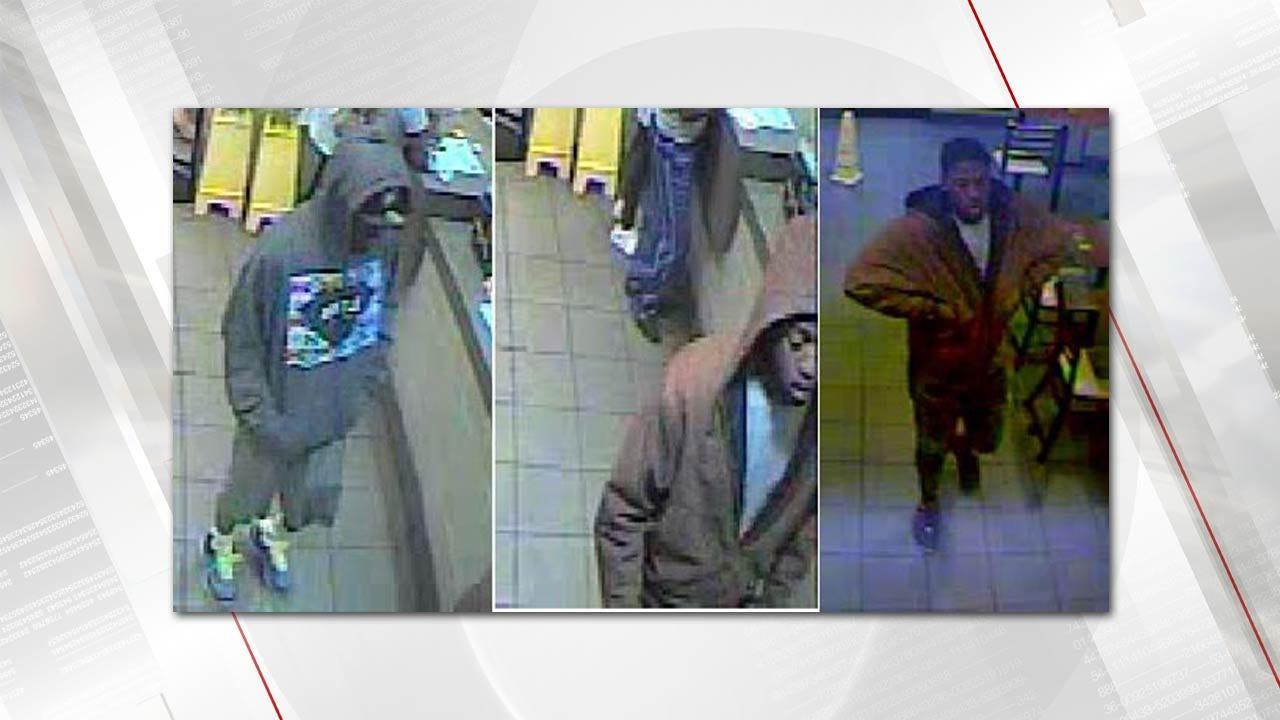 Police Seek To Identify Tulsa Robbery Suspects