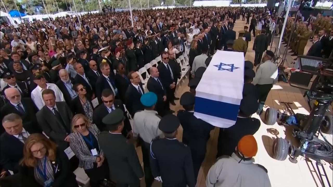 Presidents Obama, Clinton Attend Shimon Peres' Funeral