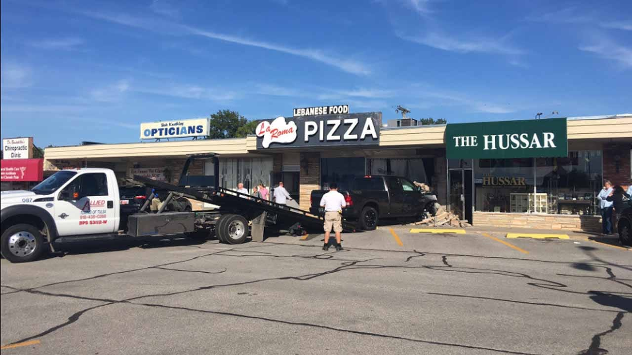 Tulsa Restaurant Closed After Truck Smashes Through Storefront