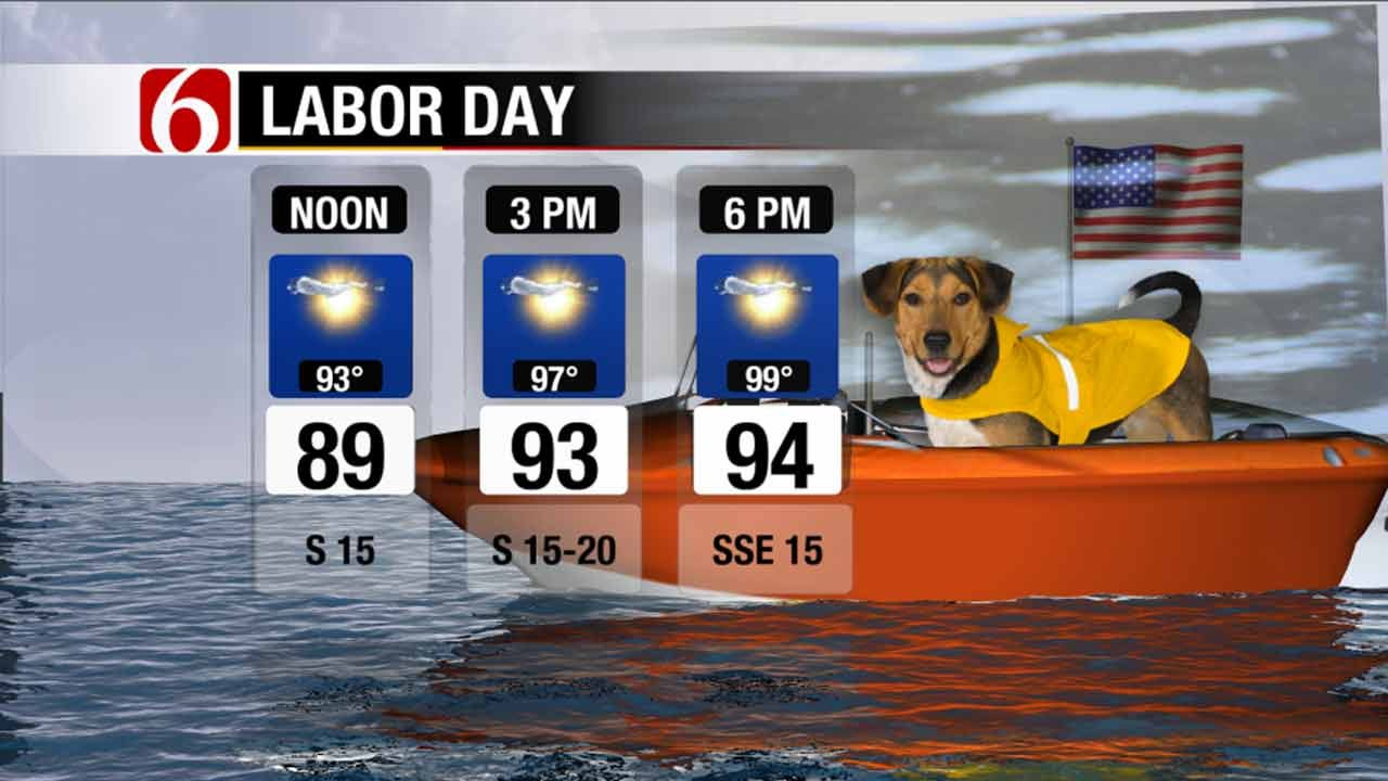 Green Country Forecast: Labor Day And Beyond