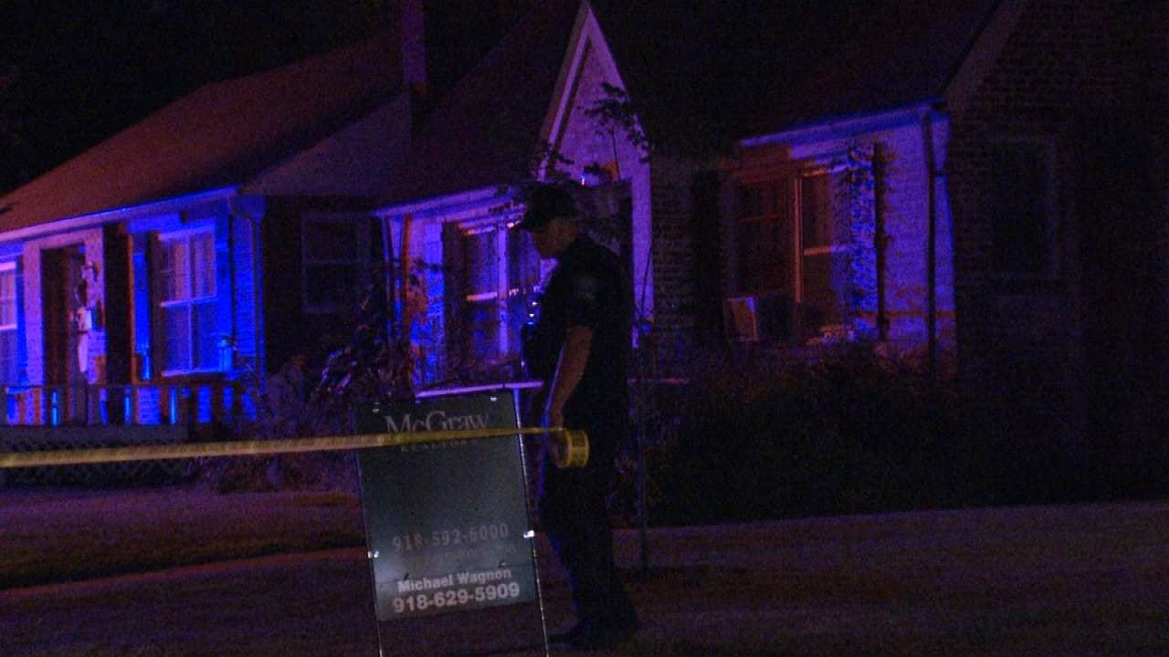 Tulsa Police Search For Shooting Suspect