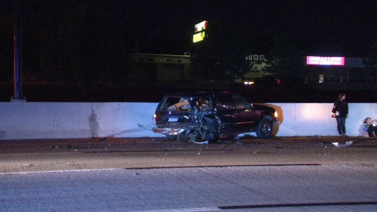 Driver Arrested On DUI Complaint After Tulsa Highway Crash