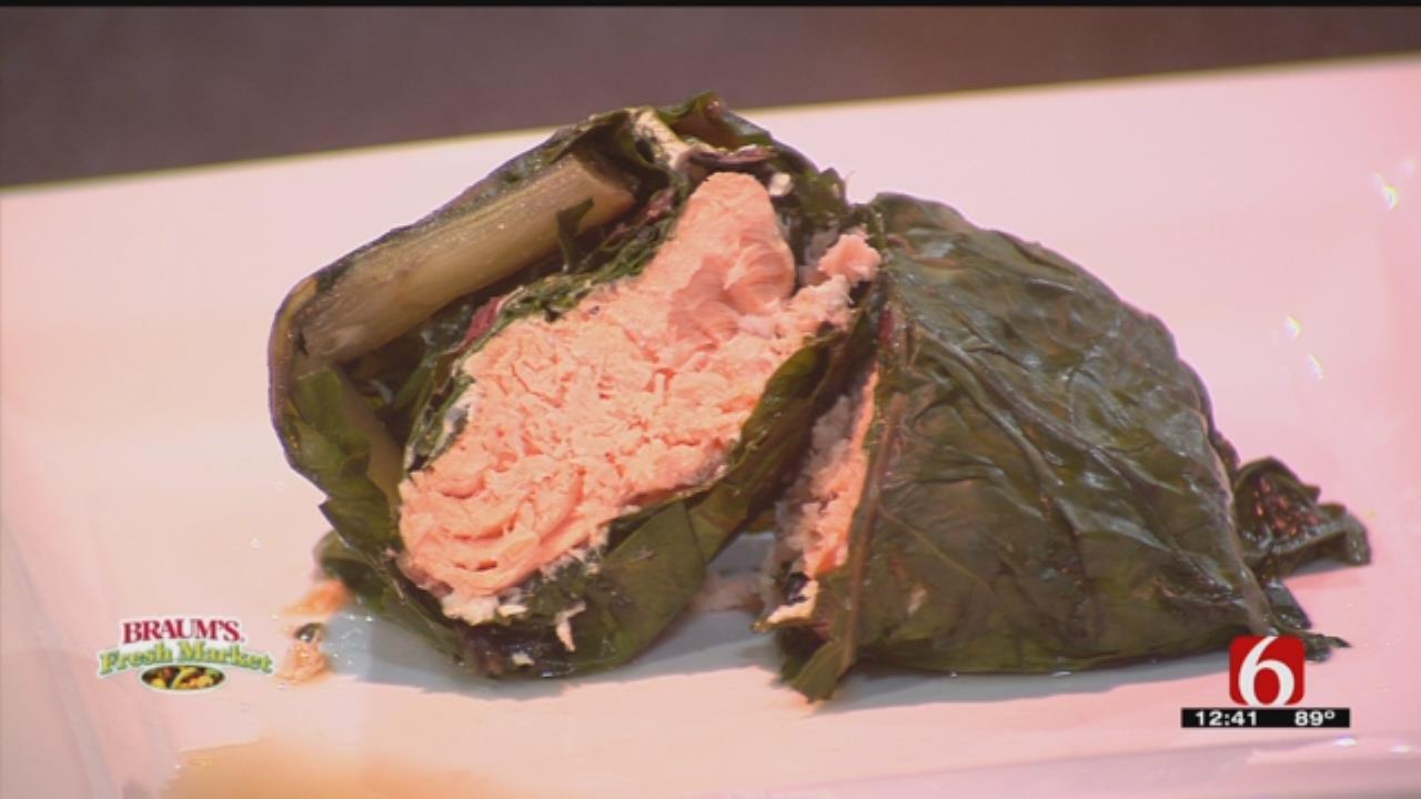 Chef Oje's Salmon Lau Lau