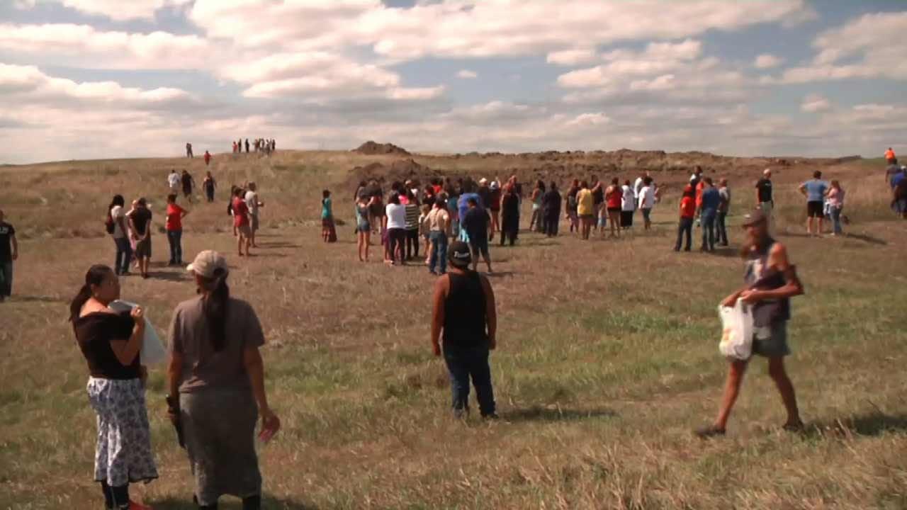 Tulsa Man Spends Labor Day Weekend Supporting North Dakota Protestors
