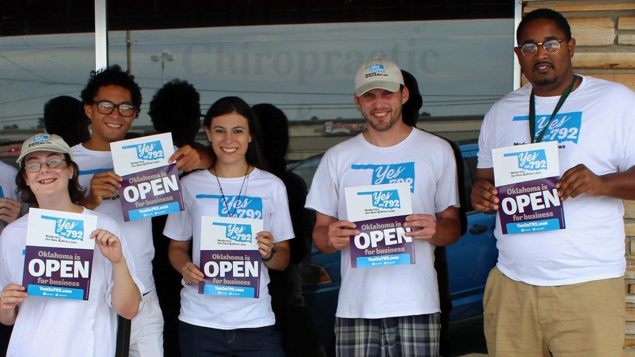 Alcohol Modernization Supporters Open Tulsa Campaign Office