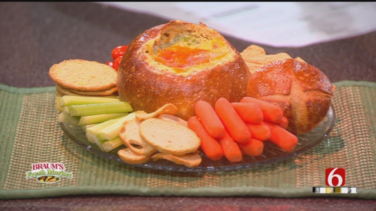 Hot Broccoli Cheddar Bacon Dip