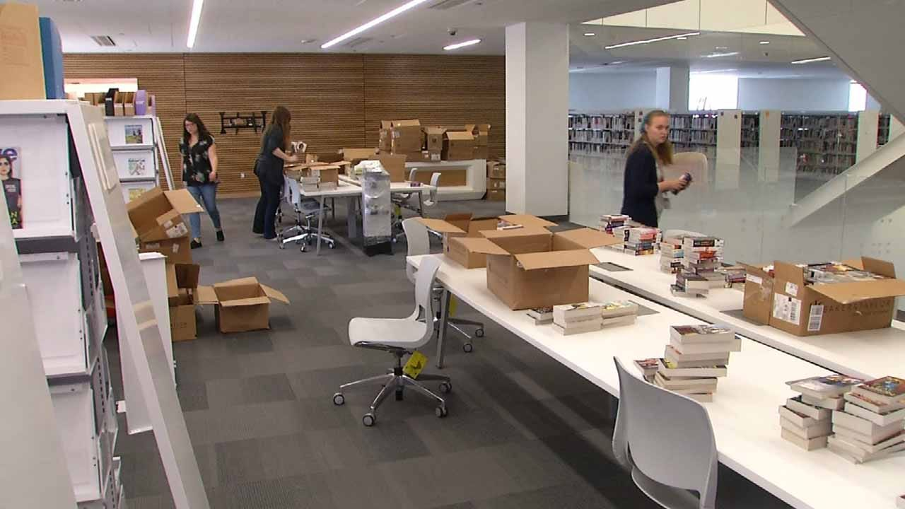 Renovated Tulsa Library Testing Out New Space