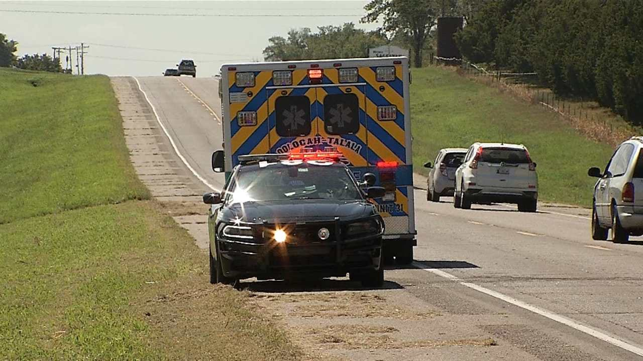 Teenage Girl Critical After Head-On Crash In Rogers County